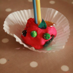 Play dough cupcakes