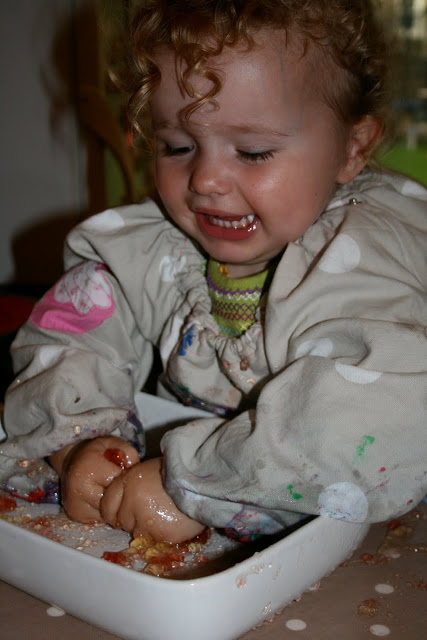 Messy Play- Jelly