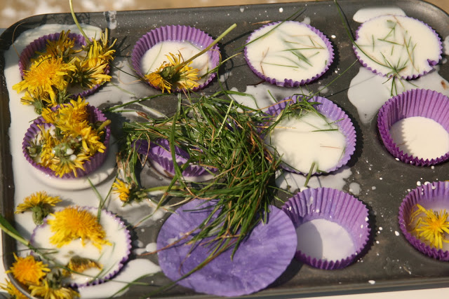 Goop and Flower Cupcakes!