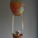 Paper Mache Hot Air Balloon for Oral Storytelling