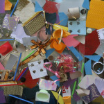 Contact Paper Recycled Sculpture