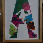 Eric Carle Initial Art