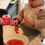 Kiddie Cooking: Pizzas
