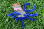 Clay and Pipe Cleaner Spider