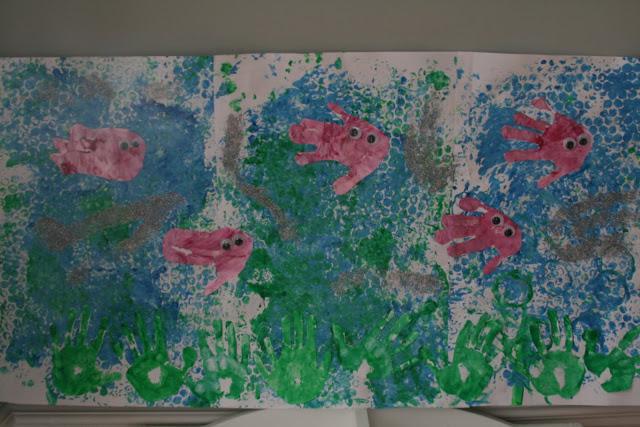 Bubblewrap Print Seascape