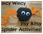 Incy Wincy Itsy Bitsy Spider Activities and Resources
