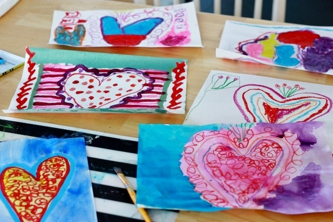Valentine Art Project for Kids