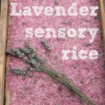 Natural Lavender Sensory Rice