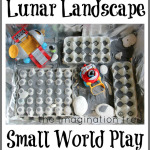 Lunar Landscape Sensory Small World Play
