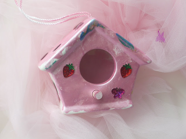 Painted Fairy Houses