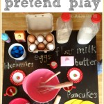 Pancake Making Pretend Play