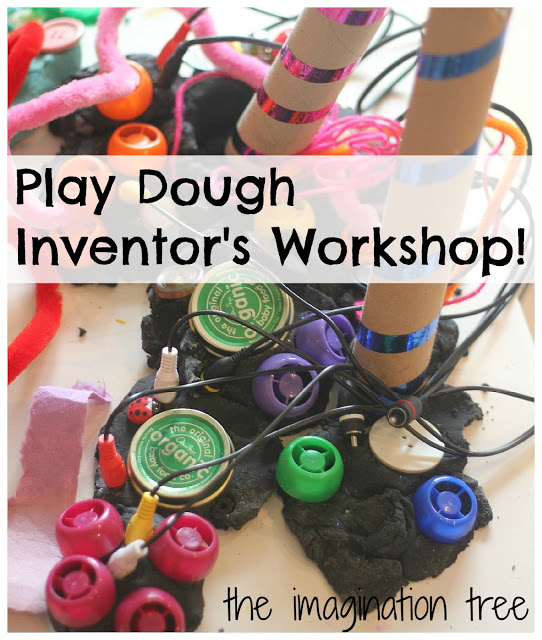Play Dough Inventor's Workshop