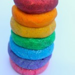 Rainbow Glitter Salt Dough