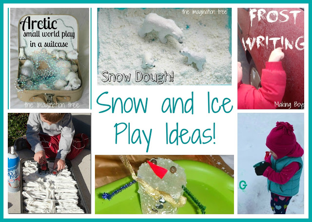 Snow and Ice Play Ideas for Kids! [It's Playtime!]