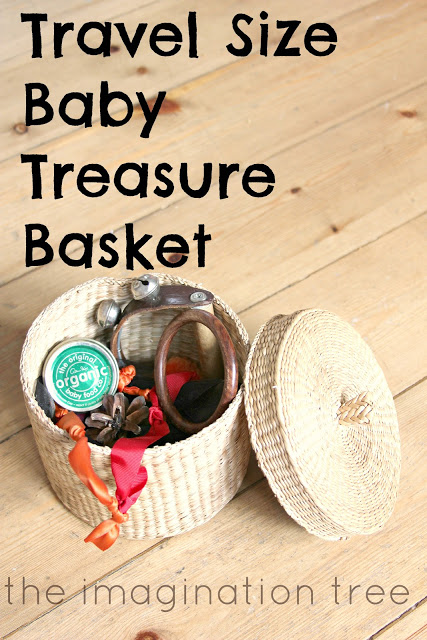 Travel Size Baby Treasure Basket!