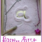 Sensory Writing in Fairy Dust
