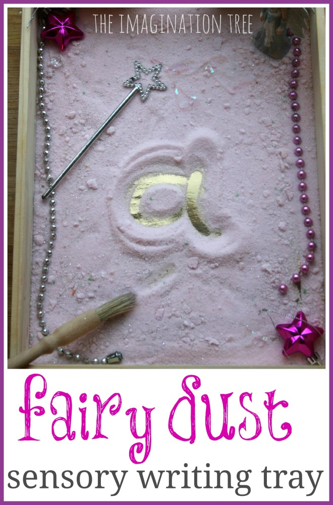 Sensory Writing in Fairy Dust