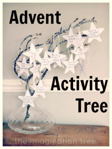 advent activity tree tradition from http://theimaginationtree.com