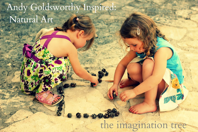 Inspired by Andy Goldsworthy: Natural Land Art for Kids