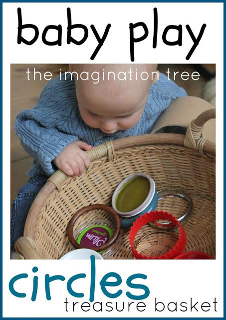 Baby Play: Circles Treasure Basket