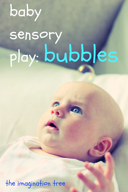 Baby Sensory Play: Bubbles!