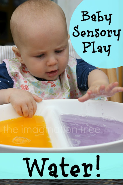 Baby Sensory Play Water The Imagination Tree