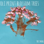 Broccoli Print Blossom Trees
