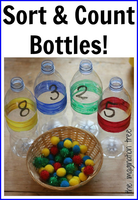 Sort and Count Maths Bottles
