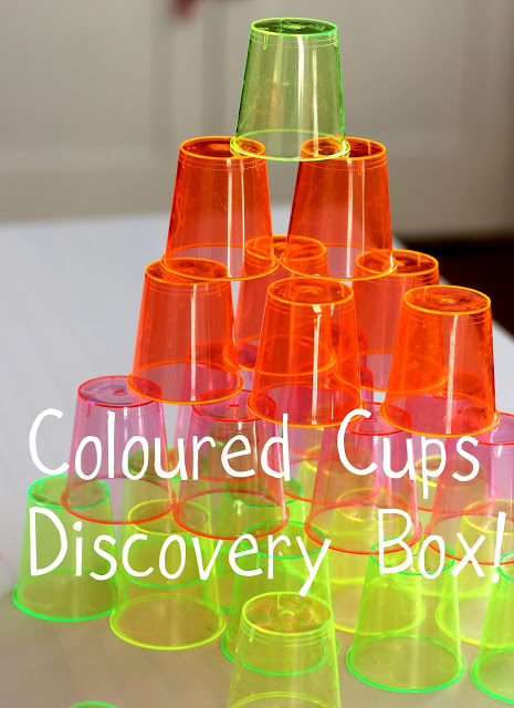 Discovery Box 13: Coloured Stacking Cups