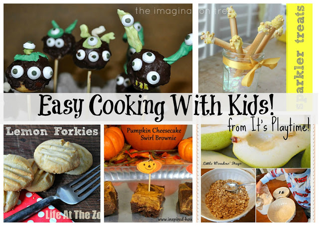 Easy Cooking With Kids [It's Playtime!}
