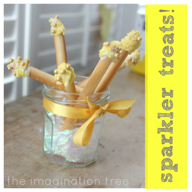Easy Sparkler Treats for Bonfire Night or New Years!