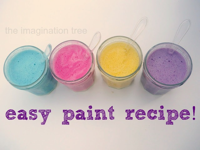 Easy Homemade Paint Recipe