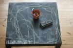 DIY Indoor Chalkboard Table