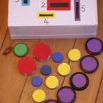Count and Sort Posting Box Maths Game