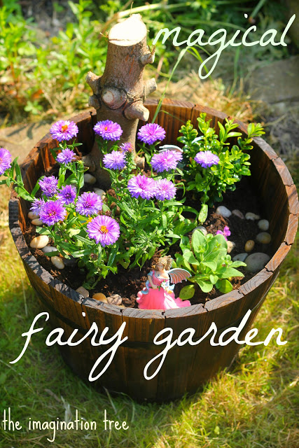 magical fairy garden for kids