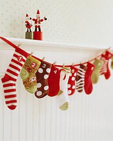 10 Fabulous Homemade Advent Calendars!