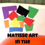 Matisse Art in the Bath Tub!