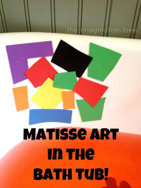 Matisse Art in the Bath Tub!