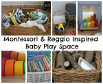 Baby Place Space for 6-18 Months: Inspired by Montessori and Reggio