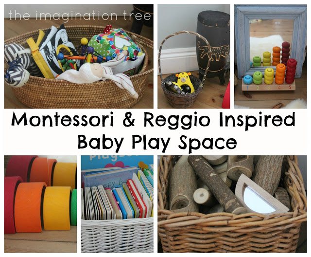 Baby Place Space For 6 18 Months Inspired By Montessori