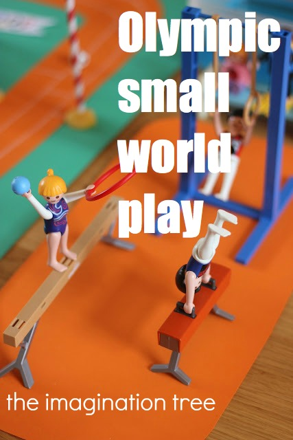 Olympic Sports Small World Play