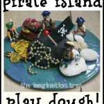 Pirate play dough small world play and story telling prompt