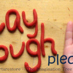 How to make no-cook play dough video tutorial!