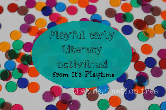 Pre-reading and pre-writing Ideas from It's Playtime