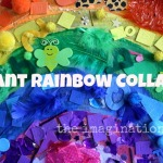 Giant Rainbow Collage