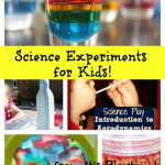 Fun Science Experiments for Kids! [from It's Playtime!]