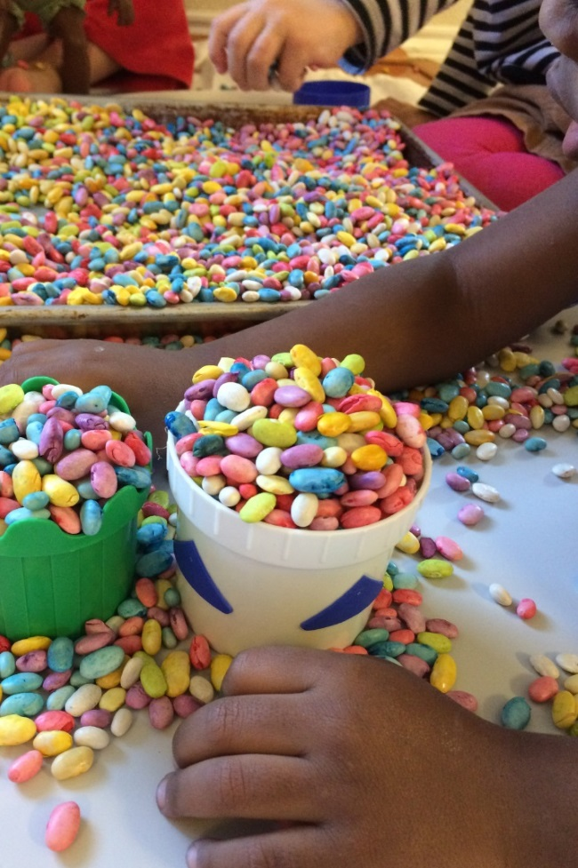 scooping icecream