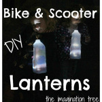 DIY Milk Jug Scooter and Bike Lanterns!