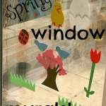 Spring Foam Window Murals
