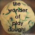 The benefits of playing with play dough